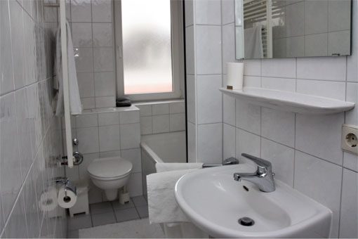 1-Zimmer Appartement - Bad