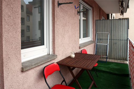 1-bedroom apartment - balcony