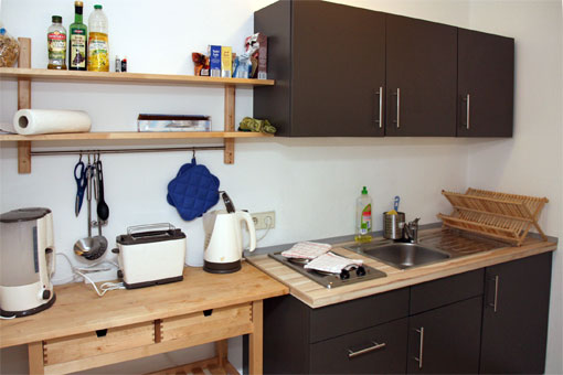 1-bedroom apartement - kitchen